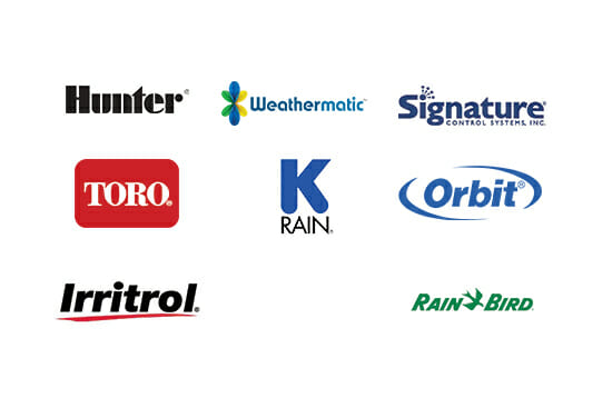 xTrax works with all major sprinkler brands